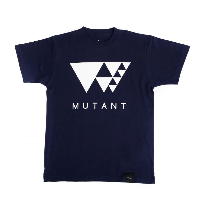 Logo t shirts navy mutant label online shop for Shirts with small logos